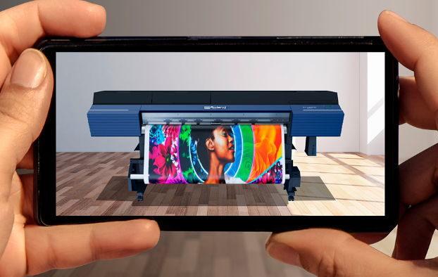 Fique a conhecer o novo Showroom Virtual interativo da Roland DG