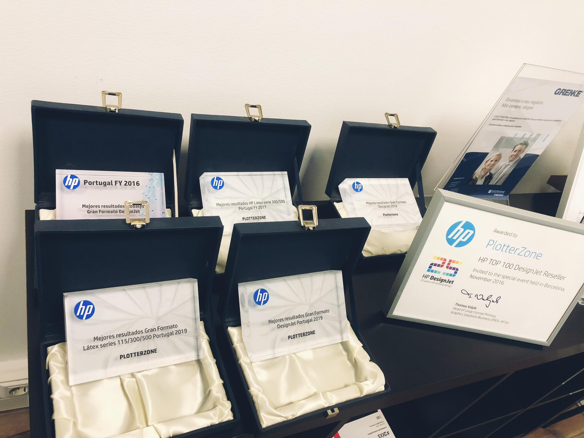 Melhores resultados Grande Formato HP Látex 115/300/500 Portugal 2019